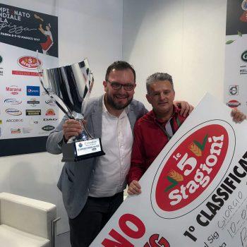 Giorgio Sabbatini Campione Del Mondo Pizza Classica