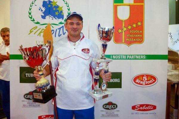 Giorgio Sabbatini Campione Europeo 2011