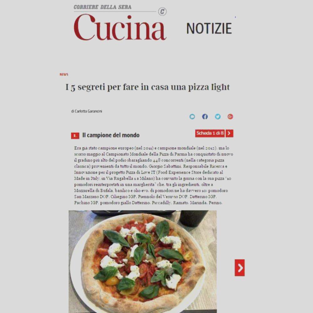 Articolo blog dedicato a giorgio sabbatini su corriere della sera cucina - Corriere della sera cucina ...