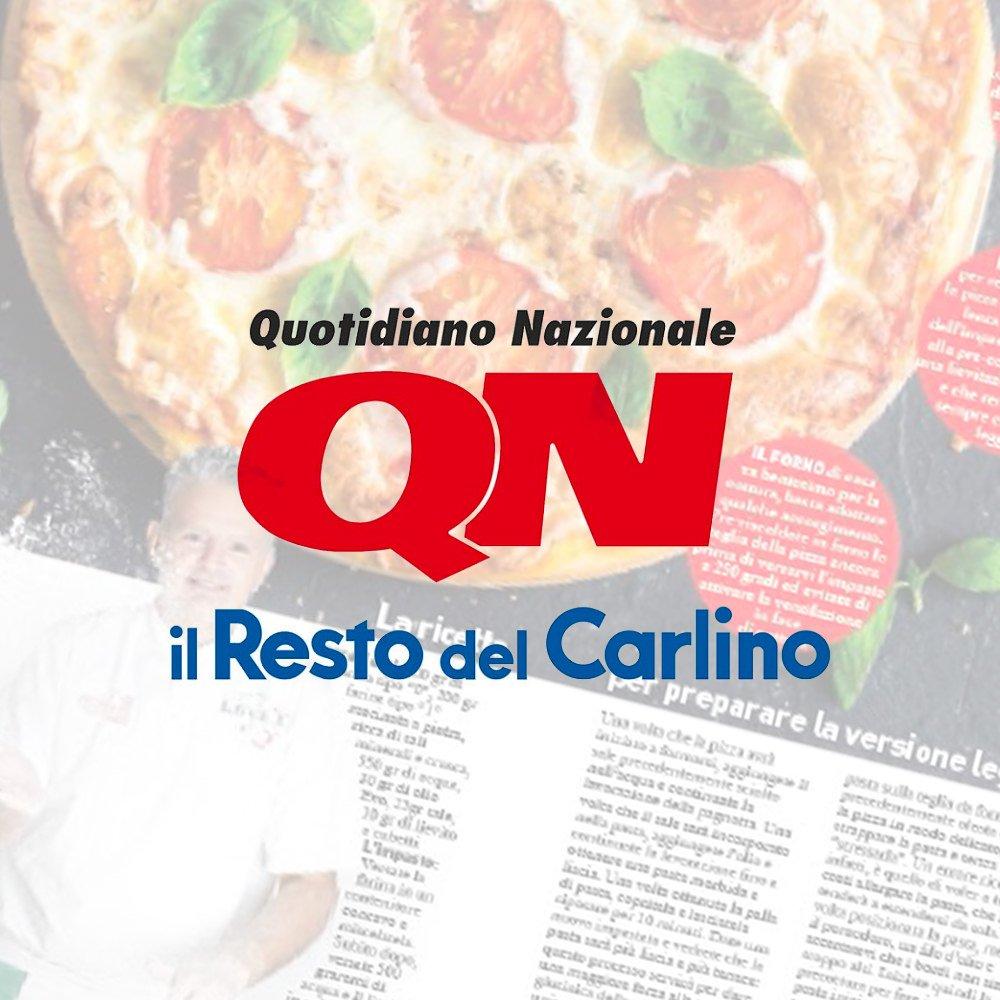 Il Resto Del Carlino intervista Giorgio Sabbatini Campione Del Mondo Pizza Classica