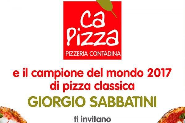 CaPizza Giorgio Sabbatini